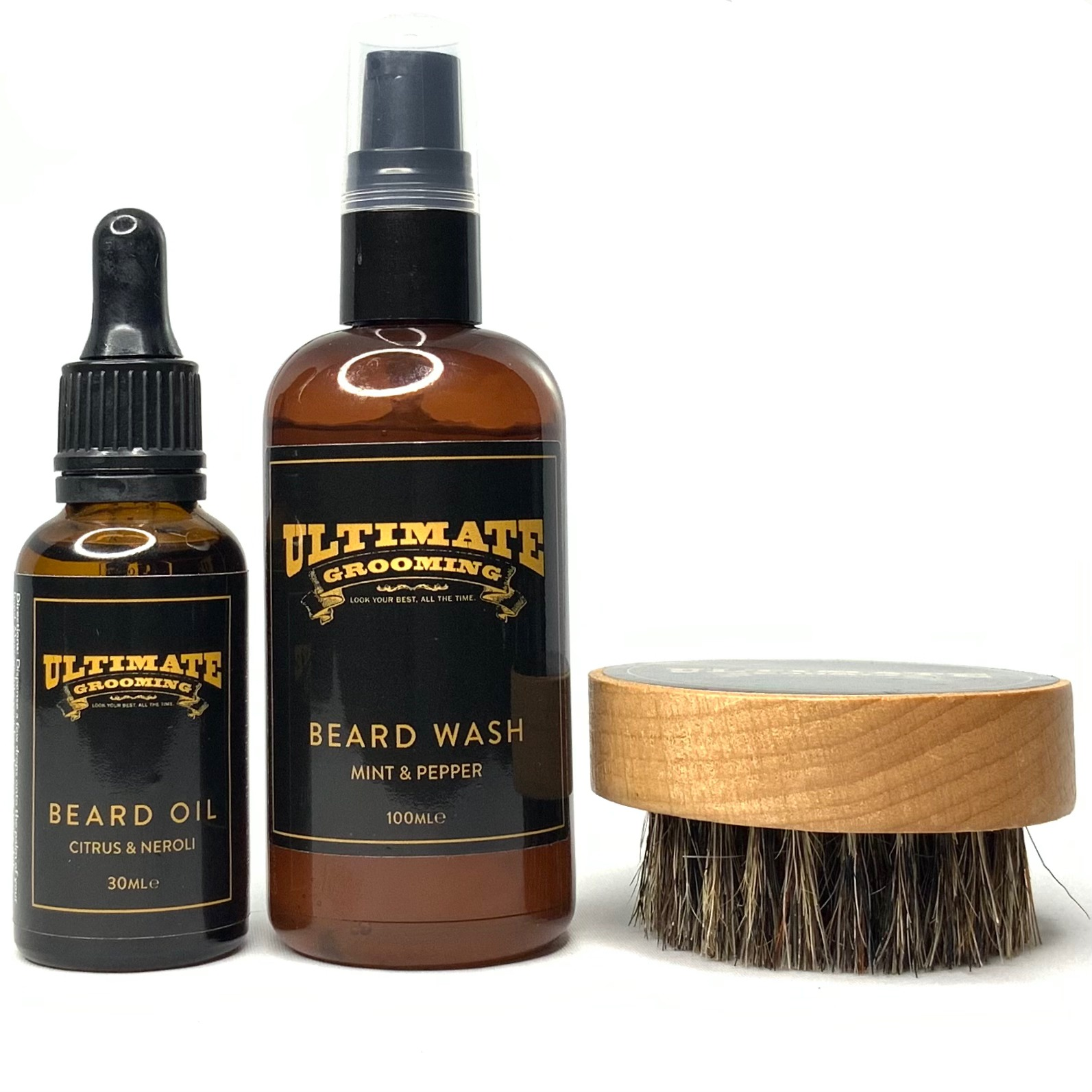 Beard Oil Treatment Pack