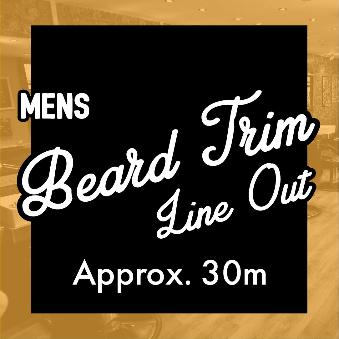 Beard Trim Line Out