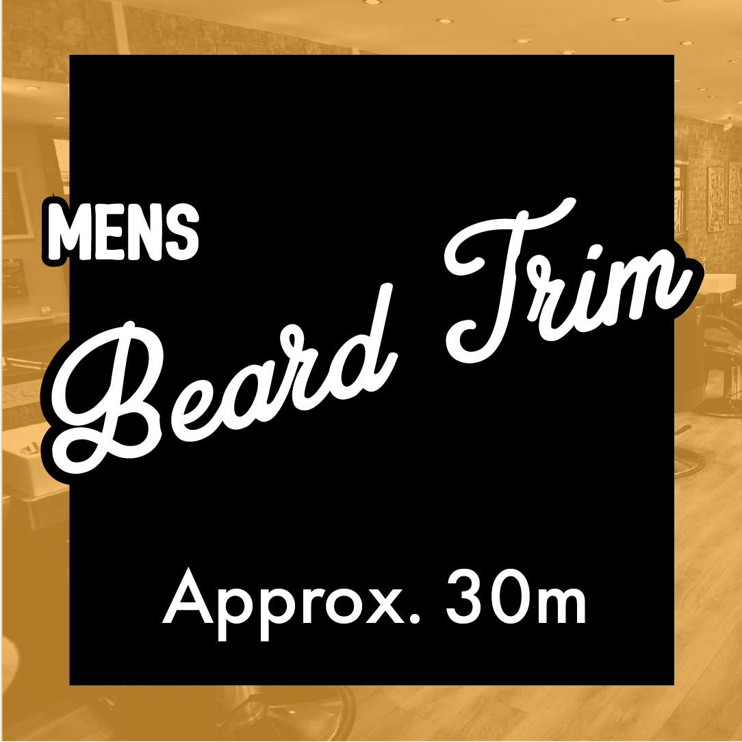 Beard Trim Only
