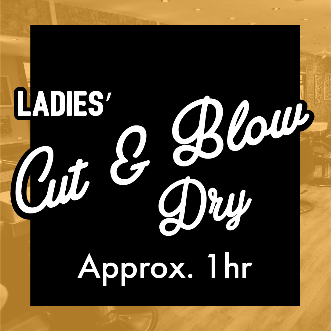 Ladies' Cut and Blow Dry