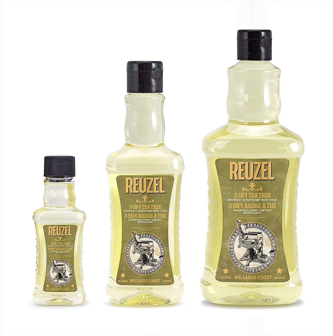 Reuzel 3 In 1 Tea Tree Shampoo